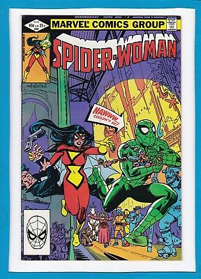 Spider-Woman #45_August 1982_Very Fine_Impossible Man_Amazing Spider-Man!