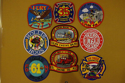 FDNY Fire Patches