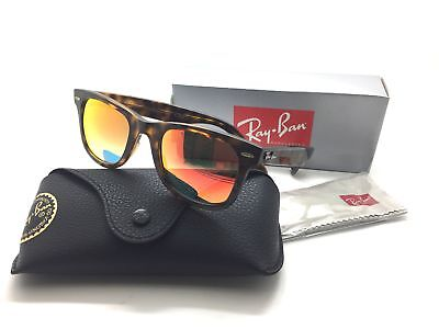 3889d6b32e28a Ray-ban Wayfarer Ease Sunglasses Rb4340 710 4w Tortoise orange Gradient 50mm