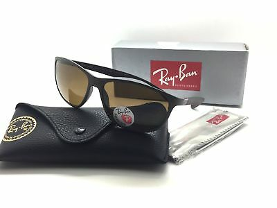 9822960571 RAY-BAN RB 4213 6124 83 61mm Brown   Brown Polarized Sunglasses ...