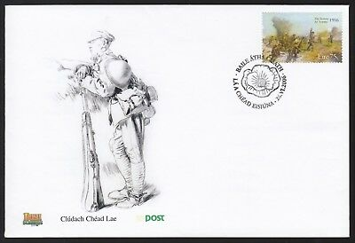 Ireland 2006 FDC 90th Anniversary Of The Battle Of The Somme - WWI Theme
