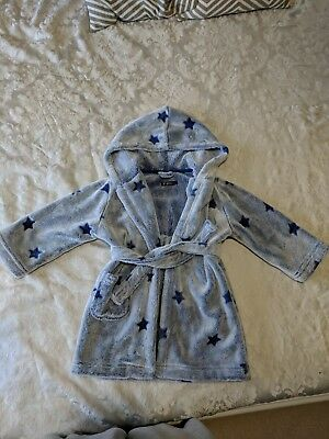 Boys 18-24 Months Dressing Gown