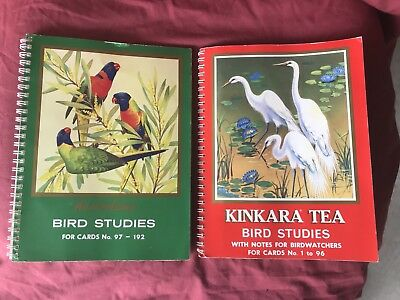Collectable KINKARA TEA Bird Studies Card Picture Books