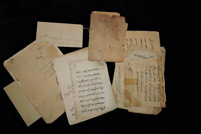 Ottoman Arabic Islamic Turkish Manuscript And Printing Leaves And Book Fragment