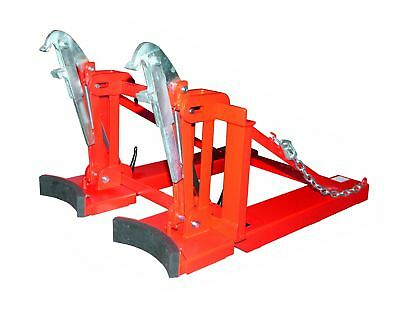 Fasslifter Typ RS RS-II/D 91, lackiert, RAL 3000 Feuerrot