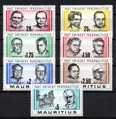 Mauritius: Past Eminent Personalities Postfrisch 1981