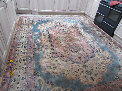 High-Quality-Heavy-Duty-Persian-Style Rug Very Large 12' By 9' Shabby Chic?