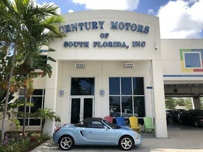 2005 Toyota MR2  Manual Transmission Convertible Top 1.8L I4 Cylinder Engine