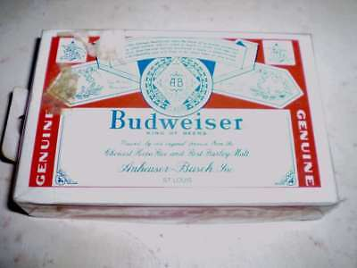 Pack of older beer playing cards  - Budweiser (Type A)