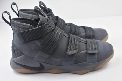 buy popular 4eaaf a3ddc Nike Lebron Soldier XI SFG Mens Multi Size Basketball Shoes Grey Gum 897646  003