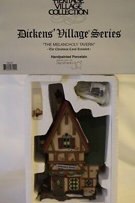 "Dept 56 Dickens' Village Series ""THE MELANCHOLY TAVERN"""
