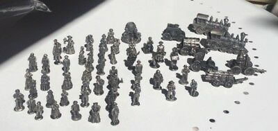 Americana Pewter Collection Miniatures - lot