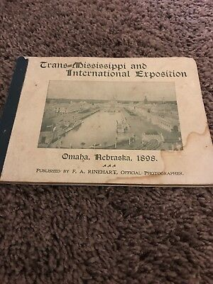 1898 Trans-Mississippi International Expo Book