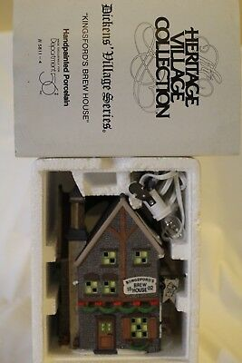 """Dept 56 Dickens' Village Series """"KINGSFORD'S BREW HOUSE"""""""