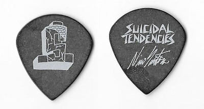 Suicidal Tendencies white on black Guitar Pick