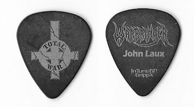 Warbringer silver on black Guitar Pick