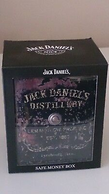 Jack Daniels Safe Money Box, New Never Used.