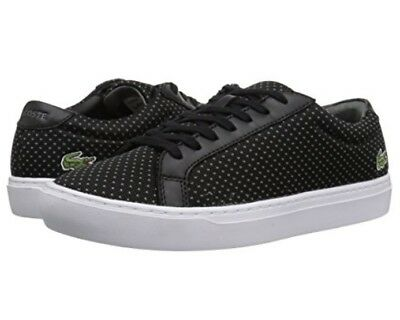 e579b0b5258231 Lacoste 7 35CAM0055237 L.12.12 Black Grey Men s Casual Sneaker Shoes