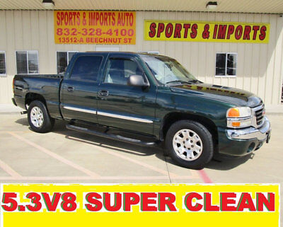2005 GMC Sierra 1500 Crew Cab  V8 2WD 1-OWNER SERVICE RECORDS RUNS LIKE NEW HAS CAMPER SAME AS SILVERADO 1500