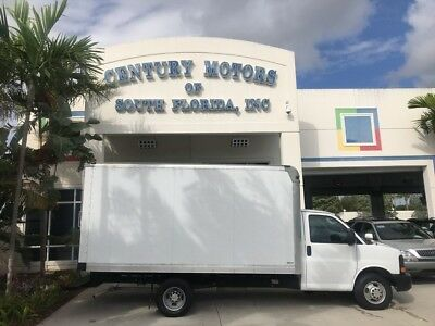 2013 Chevrolet Express  Dually DRW 14' Box Truck G3500 6.0L V8 Gas Engine