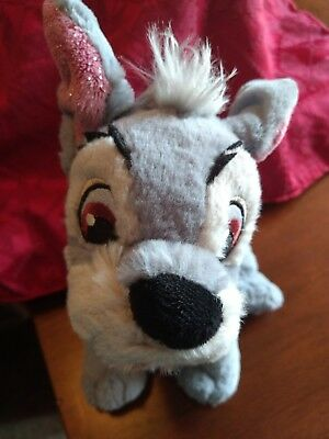 "Lady And The Tramp Jock 9"" Scamp Plush Dog Tote A Tail Stuffed DISNEY WORLD"
