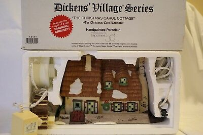 "Dept 56 Dickens' Village ""THE CHRISTMAS CAROL COTTAGE"""