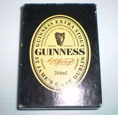 Pack of older beer playing cards  -  Guinness