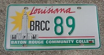 Louisiana Baton Rouge Community College  license plate # 89