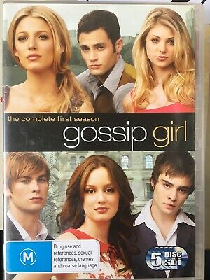 GOSSIP GIRL - Season 1 5 x DVD Set Excellent Cond! Complete First Series One