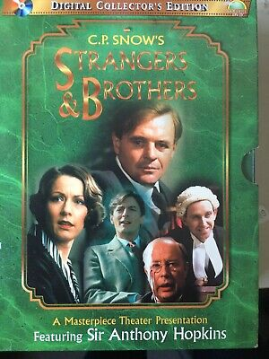 STRANGERS & BROTHERS - Complete 4 x DVD Box Set Masterpiece Theatre Exc Cond!