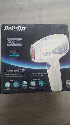 Epilateur a lumiere pulsee babyliss