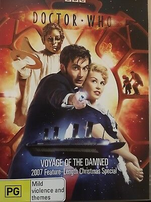 DOCTOR WHO - Voyage Of The Damned 2007 Christmas Special DVD BBC AS NEW!