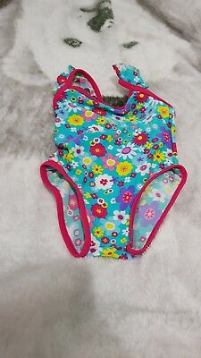 Superior Lovely Girls John Lewis Flower Swimming Costume Age Costume Age 9 12 Months