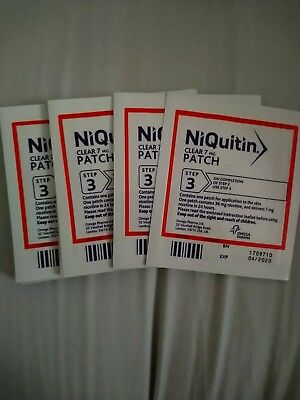 7mg niquitin clear patches step 3...14 patches