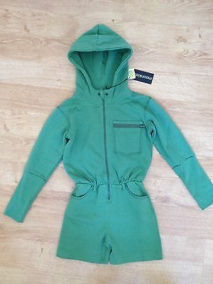 Girls playsuit military green 6 years Moonkids NEW with tags