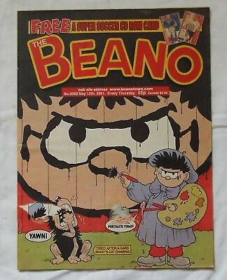 2001 THE BEANO Comic No. 3069