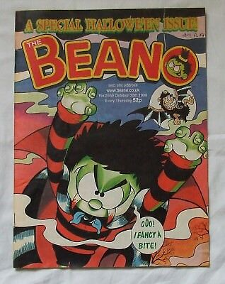 1999 THE BEANO Comic No. 2989