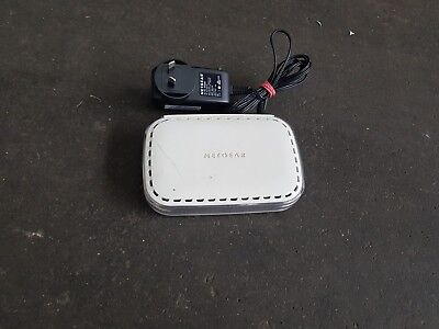 NETGEAR Gs605 5 Port Gigabit Ethernet Switch - Used Great Condition
