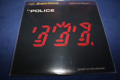Nautilus-Super Discs-Lp/vinyl-The Police-Ghost In The Machine-Out Of Print-Mint