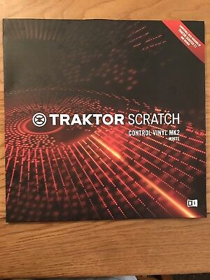 Native Instruments Traktor Scratch Control Vinyl MK2 Replacement -WHITE