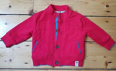 BNWOT Baby 3 - 6 Months Ted Baker Red Jacket Coat Boy Girl