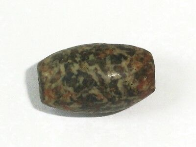 1 Rare Ancient Stone Bead, 1800 yrs. old... 16x10x9mm