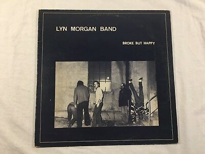 Vinyl Schallplatte LP - Lyn Morgan band - Broke but Happy - Z 260