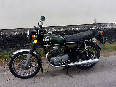 Honda Cb 350 1973 Twin Uk Bike All Original