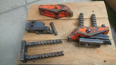 Pair of Carver T slot clamps, used but a real good solid make,for mill or lathe.