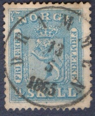 NORWAY 1863/6  4 Skill   DRAMMEN CDS (A368)