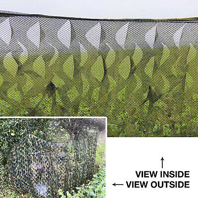 Nitehawk Woodland Camo Ghost Net Hunting/Shooting Camouflage Hide Netting