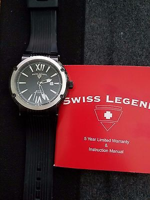 Swiss Legend Legato Cirque Swiss Automatic Mens Watch 12900