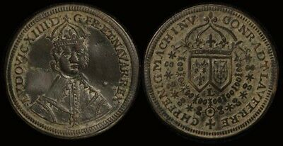 France: Original 1638-1718 Louis XIIII Jeton - Unresearched. Worth checking out