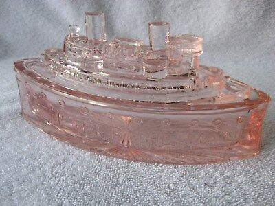 Remember The Maine Light Pink Candy Dish